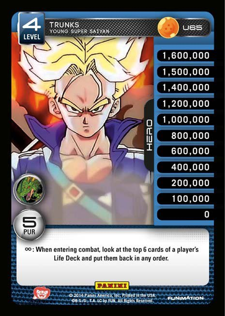 U65 Trunks, Young Super Saiyan