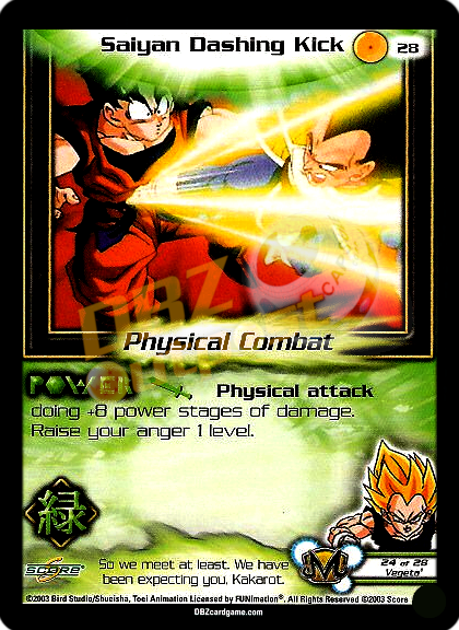 28 - Saiyan Dashing Kick Unlimited