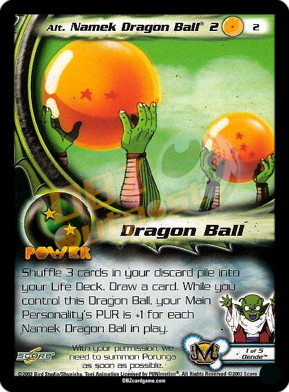 2 - Alt Namek Dragon Ball® 2 Unlimited