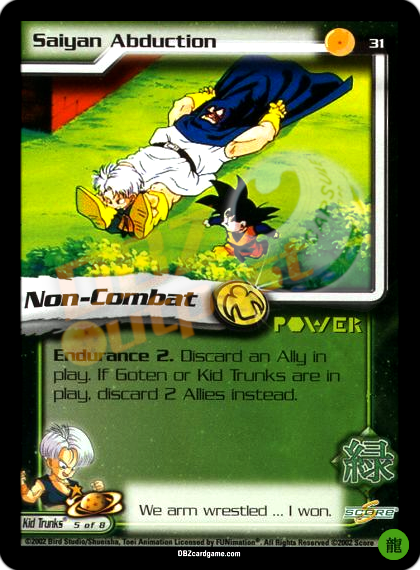 31 - Saiyan Abduction Limited Foil