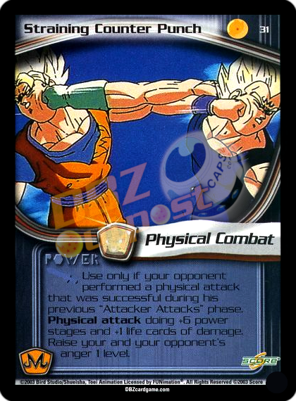 31 - Straining Counter Punch Unlimited Foil