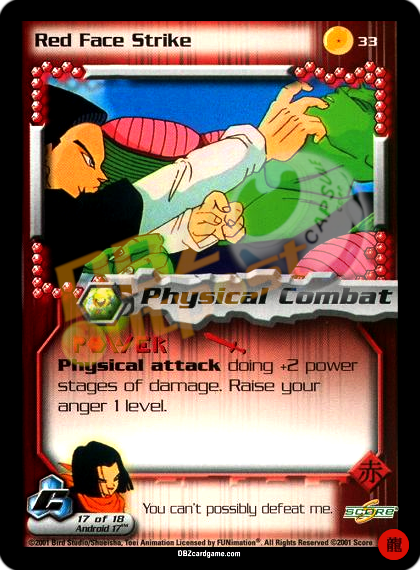 33 - Red Face Strike Limited Foil