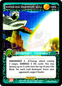 C33 Namekian Maximum Will Foil