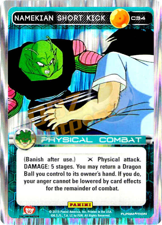 C34 Namekian Short Kick Foil
