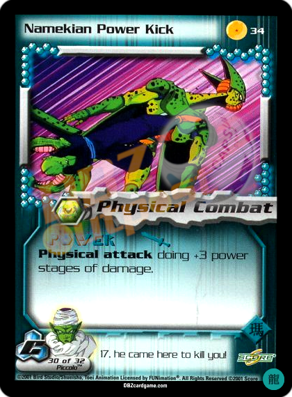 34 - Namekian Power Kick Limited Foil