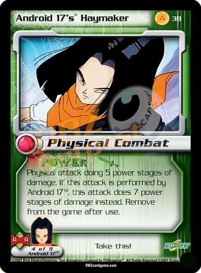 38 - Android 17's Haymaker Unlimited Foil