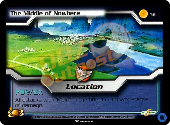 38 - The Middle of Nowhere Limited Foil