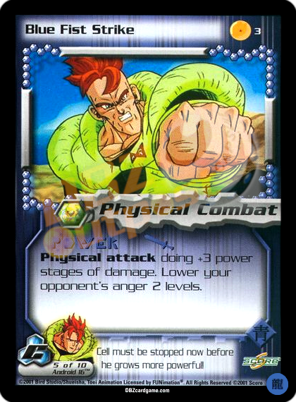 3 - Blue Fist Strike Limited Foil