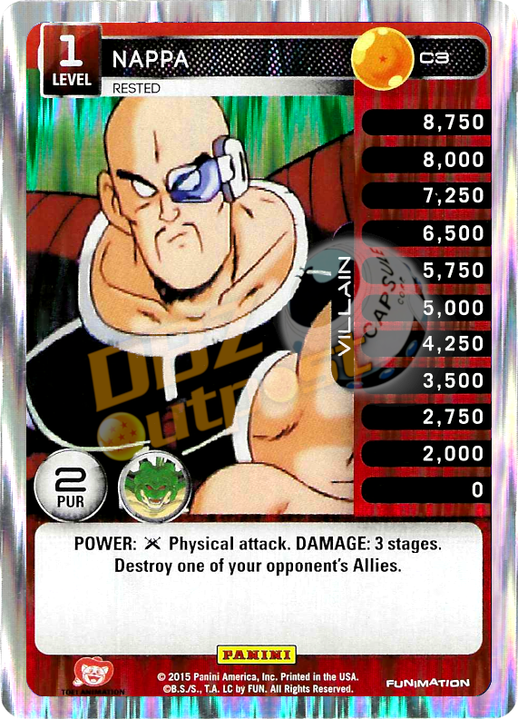 C3 Nappa, Rested Foil
