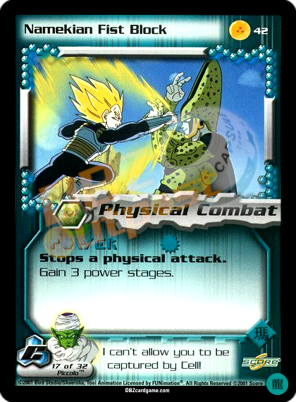 42 - Namekian Fist Block Limited Foil