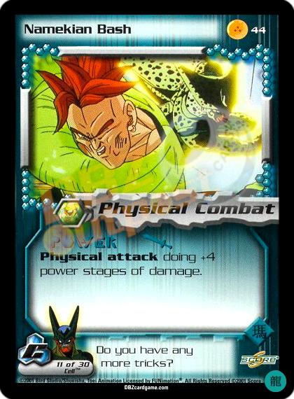 44 - Namekian Bash Limited Foil