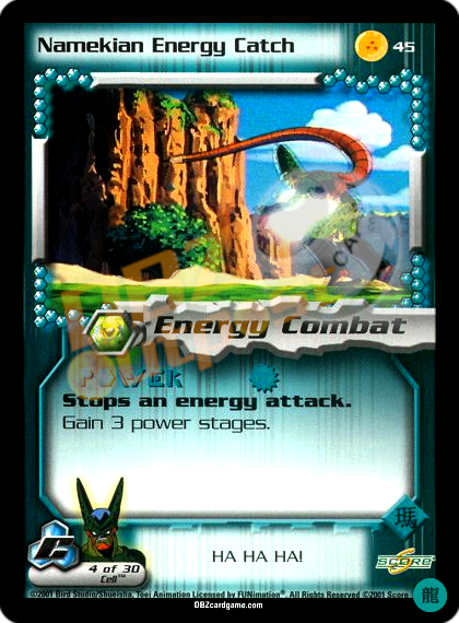 45 - Namekian Energy Catch Limited Foil