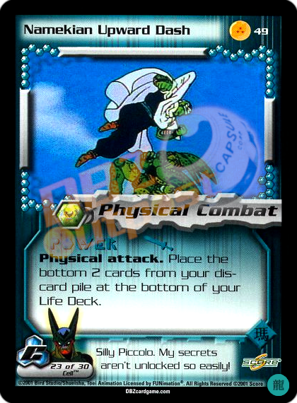 49 - Namekian Upward Dash Limited Foil