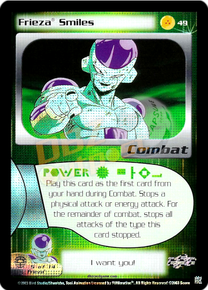 49 - Frieza Smiles