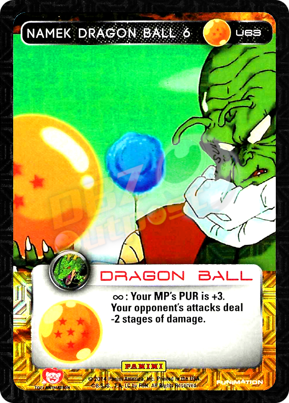 U63 Namek Dragon Ball 6 Foil
