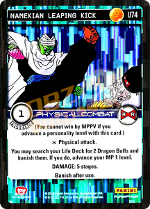 U74 Namekian Leaping Kick Foil