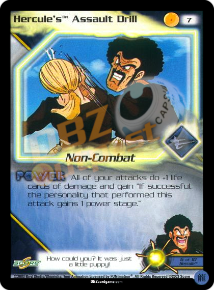 7 - Hercule's Assault Drill Limited Foil
