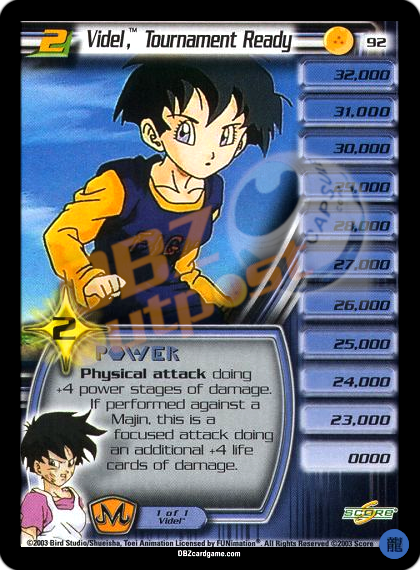 92 - Videl™, Tournament Ready LV2 Limited