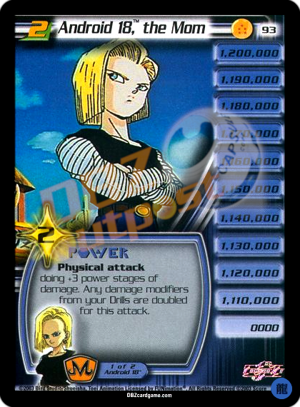 93 - Android 18™, the Mom LV2 Limited