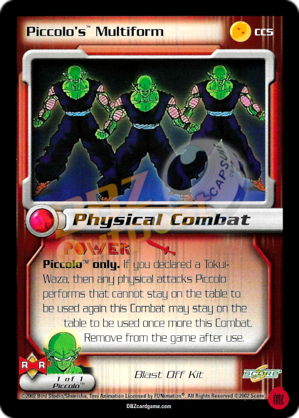 CC5 - Piccolo's Multiform