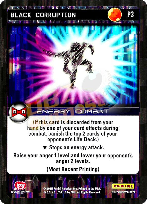 P3 Black Corruption Foil