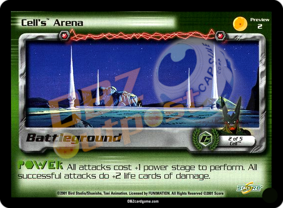 Preview 2 - Cell's Arena Unlimited Foil