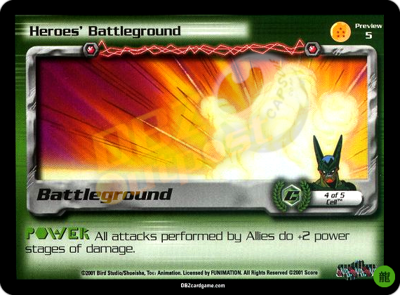 Preview 5 - Heroes' Battleground Limited Foil