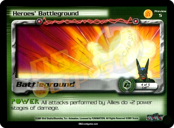 Preview 5 - Heroes' Battleground Unlimited Foil