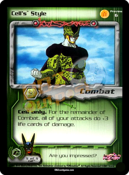 Preview 6 - Cell's Style Unlimited Foil