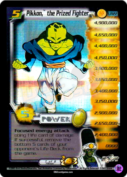 UR22 - Pikkon, the Prized Fighter LV5