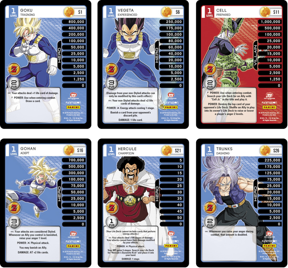 Set of All 6 Hi-Tech Main Personality Sets (Awakening)