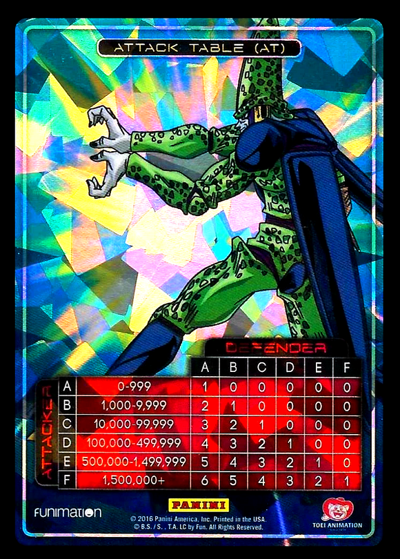 Awakening Attack Table Cell Foil
