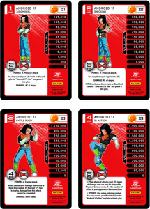 Android 17 Level 1-4 Hi-Tech Main Personality Set (Evolution)