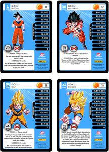 Goku Level 1-4 Hi-Tech Main Personality Set (Evolution)