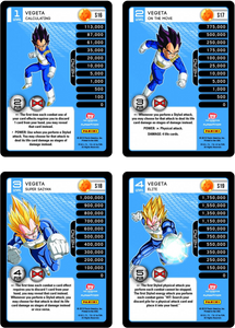 Vegeta Level 1-4 Hi-Tech Main Personality Set (Evolution)