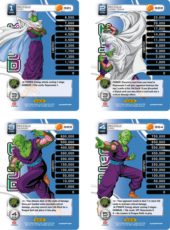 Piccolo Level 1-4 Hi-Tech Main Personality Set (Premiere)