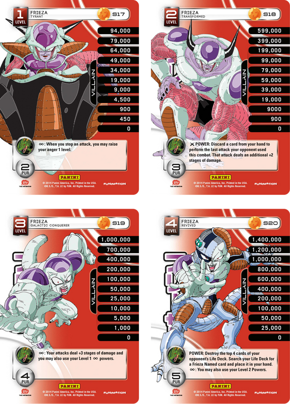 Frieza Level 1-4 Hi-Tech Main Personality Set (Premiere)
