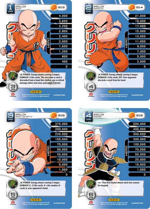 Krillin Level 1-4 Hi-Tech Main Personality Set (Premiere)