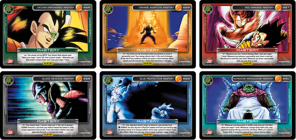 Set of All 6 Hi-Tech Mastery Cards (Premiere)