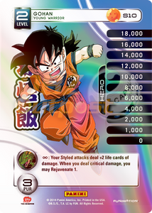 S10 Gohan, Young Warrior Hi-Tech Rainbow Prizm