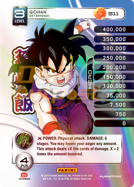 S11 Gohan, Determined Hi-Tech Rainbow Prizm