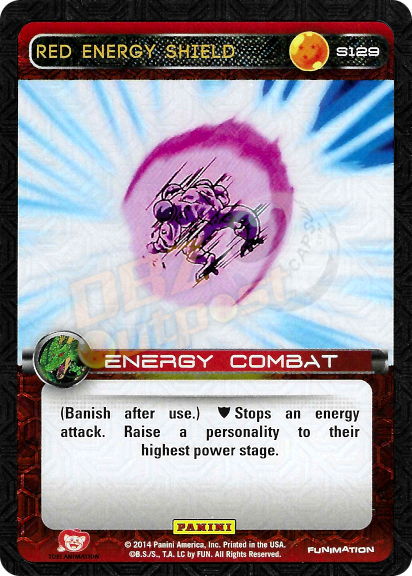 S129 Red Energy Shield Foil