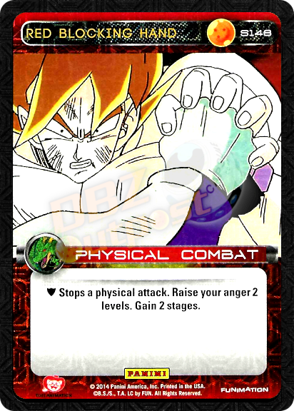 S148 Red Blocking Hand Foil