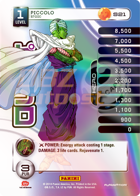 S21 Piccolo, Stoic Hi-Tech Rainbow Prizm