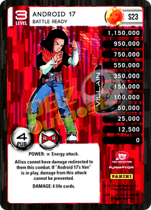 S23 Android 17, Battle Ready Booster Pack Foil
