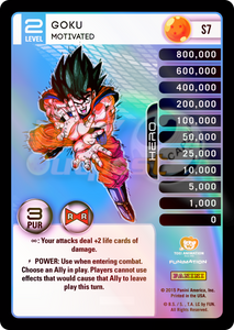 S7 Goku, Motivated Hi-Tech Rainbow Prizm