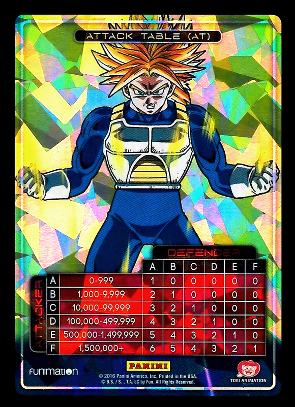 Awakening Attack Table Trunks Foil