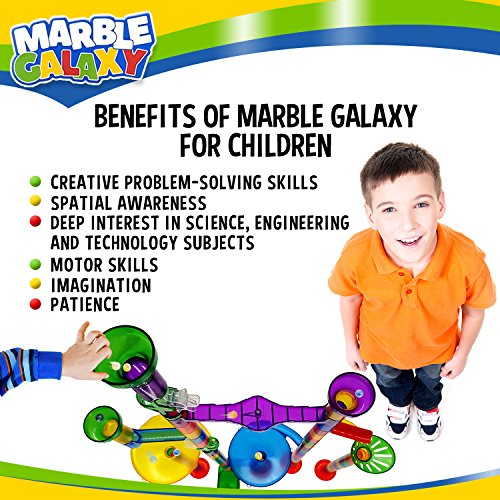Marble Run Track Toy Set