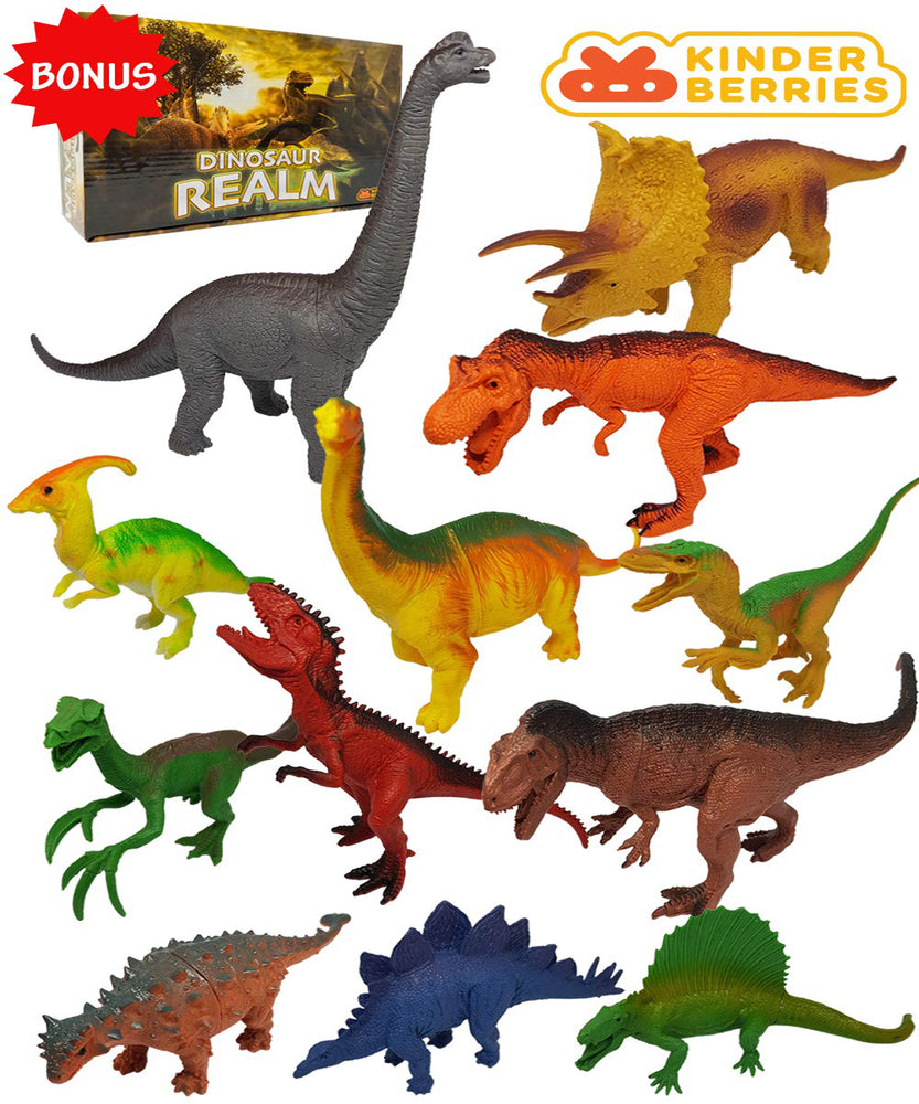 12pcs Dinosaur Toy Set