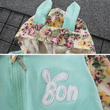 2-Piece Set - Hoody Rabbit & Pants Together - Children Baby Clothing Blue / 6M - Serene Parents